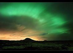 Arched Aurora - Reykjanes, Iceland, via Flickr.