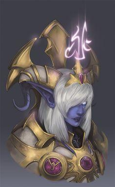 I'm not a fan of the Alliance but I love this art http://ranefea.deviantart.com/art/Yrel-555959071