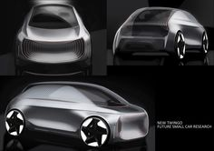 Renault exterior intern project on Behance