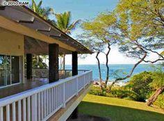 hawaii beachfront homes | Makena Oceanfront Home For Sale | Hawaii Life