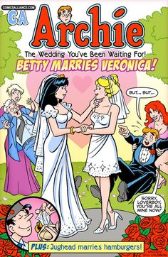 Great Comics That Never Happened Valentine's Day Special: Betty Marries Veronica! - ComicsAlliance | Comic book culture, news, humor, commentary, and reviews
