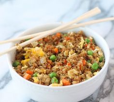 Quinoa Fried Rice | Food and Eat