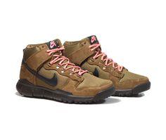 NIKE SB Dunk High Boot - Military Brown/Black-Dark Khaki