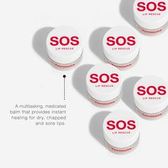 Fixated on the lips. The superior healing properties of the SOS lip rescue makes it ideal to treat delicate or dry, chapped lips. Apply to lips as often as needed, to restore, protect and maintain its barrier. #pHformula #skinresurfacing #skinhealth #homecare #SOS #lipcare #lips Skin Resurfacing, Chapped Lips, Lip Care, Restore, Skincare, Delicate, Healing, How To Apply, Cracked Lips
