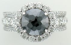 #blackdiamond #ring by Christopher Design exclusively at Coffrin Jewelers