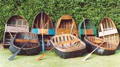 A selection from Conwy Richards Coracle collection