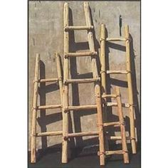 Pueblo Style ladders made by the Tarahumara people in Mexico now available at Off Fourth Outlet Store in Tucson.  Only $5.00 a foot.