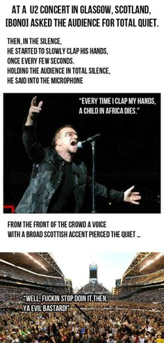 Bono Gets Owned