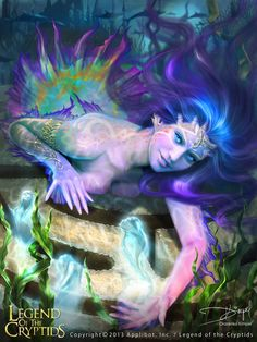 """Princess Of The Sea  (REG) for """"Legend Of The Cryptids"""" by  Drazenka Kimpel   ☆"""