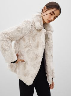 SUNDAY BEST MORTIMER COAT - <p>Playful faux fur that knows how to have a good time</p>