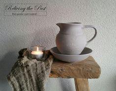 Van oud gekleurd lampetstel naar een beauty voor een landelijk interieur ♡ Gebruik muurvuller en krijtverf kleur stone van @decoandlifestyle