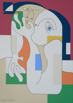 ARTFINDER: Anonymus by Hildegarde Handsaeme - Painting on canvas