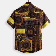 Fashion Essentials, Style Essentials, Vintage Men, Vintage Fashion, Ethnic Patterns, Flower Shirt, Cotton Shirts, Ethnic Fashion, Shirt Style
