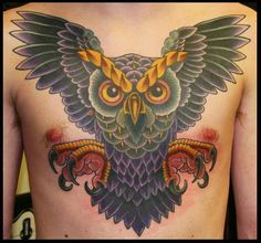 Matt Brotka owl tattoos rule, just say'n.