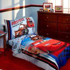 Disney® Cars Fastest Team 4-Piece Toddler Bedding Set - BedBathandBeyond.com