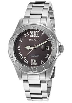 Invicta - Shop by Brand Jewelry Closet, Rolex Watches, 18k Gold, Clock Work, My Style, Stainless Steel, Accessories, Shopping, Black