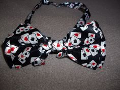 Bow Tie for poker players.. See at stores.ebay.com/somthinspecl