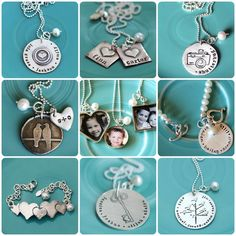 cool stamped pieces  Love love love...deserves an extra LOVE!