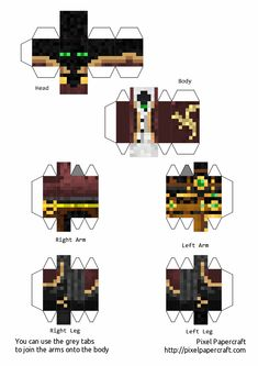 Papercraft Minecraft Skin, Minecraft Mobs, Minecraft Funny, Minecraft Crafts, Minecraft Templates, Perfect Boy, Really Funny, Easy Drawings, Cool Art