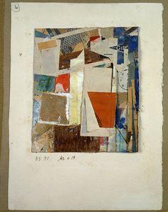 collageoftheweek: Kurt Schwitters, Mz x 19 1947