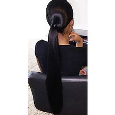 long sraight human hair lace wigs