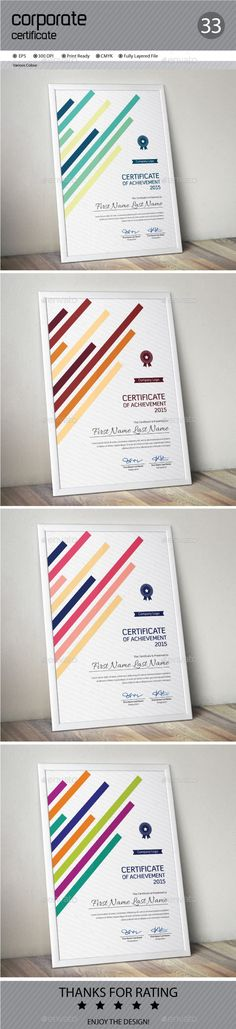 Certificate Template Vector EPS. Download here: http://graphicriver.net/item/certificate/13530941?ref=ksioks