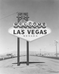 Betty Willis - Welcome to fabulous Las Vegas sign