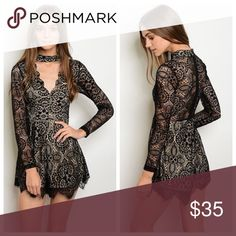 NWT Sexy Taupe Lace Romper ✔️NWT ✔️ Fast response  ✔️ 15% off bundles 🚫 No low ball offers  🚫 Not from listed brand 🔹 Boutique item  ✔️Great quality of material  🔹This Item may or may not include a tag but is brand new Boutique Dresses