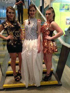 Three of Lesley's designs showcased in March in Style And Profyle's charity fashion/dance show!