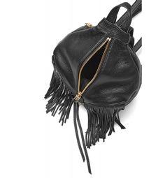 Rebecca Minkoff #Backpack With Fringe Black
