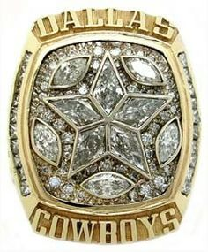 1995 Dallas Cowboys Super Bowl Championship Ring