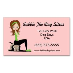 Pet sitting and dog walking custom promotion art business card template. This is a fully customizable business card and available on several paper types for your needs. You can upload your own image or use the image as is. Just click this template to get started!