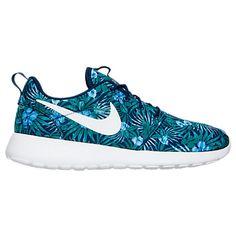 Men's Nike Roshe One Print Premium Casual Shoes - 833620833620-410| Finish Line