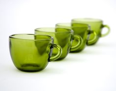 green glass, color, glass cup