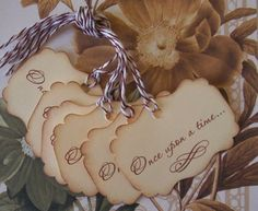 Tags Wedding Wish Tree Once Upon A Time Gift Tags by bljgraves, $4.00
