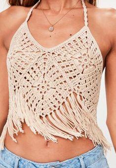 88 Besten Crop Tops Häkeln Bilder Auf Pinterest Crochet Bikini