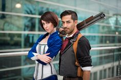 Elizabeth & Booker (Bioshock Cosplay) | SDCC 2013