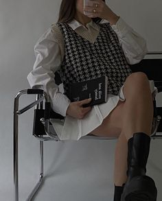 Mode Outfits, Grunge Outfits, Fashion Outfits, Womens Fashion, Moda Aesthetic, Aesthetic Clothes, Look Fashion, Korean Fashion, Looks Style