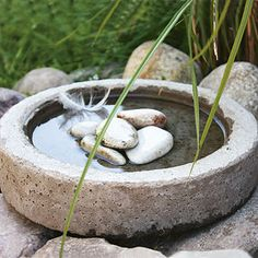 Make Your Own Concrete Garden Planters - Better Homes and Gardens - BHG.com