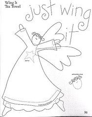 just wing it by Art to Hear via Flickr (No pattern.) Inspiration