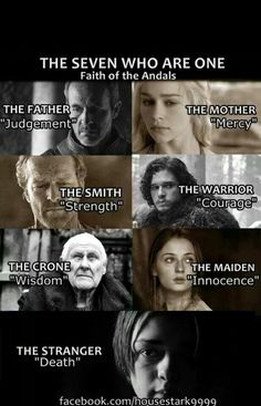 The seven who are one.