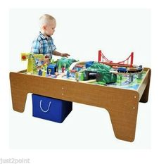 DIY Train/activity Board   Put Lockable Casters On It And You Could Slide  It Under Their Bed | Pretend Play For Preschoolers | Pinterest | Train Table,  ...