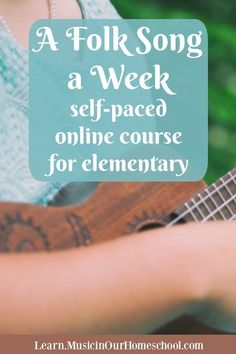 Who is ready to add learning folk songs in your homeschool? You'll love Gena of Music in Our Homeschool's newest online course: A Folk Song a Week! Preschool Music, Music Activities, Teaching Music, Teaching Kids, Kindergarten Songs, Music Lesson Plans, Music Lessons, Singing Lessons, Campfire Songs