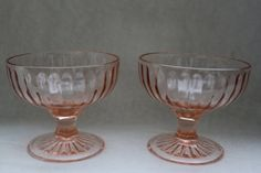 I love Depression glass. These are adorable.