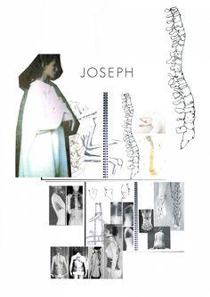JOSEPH University Portfolio Brief | Research | Silhouette | Design Development | CAD | Illustration