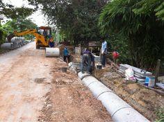 รับเหมาก่อสร้าง ต่อเติม รับสร้างบ้าน Front Service ช่วยท่านได้: งานรับเหมาก่อสร้างถนน ต.ท่าอิฐ จ.นนทบุรี http://www.front-service.com/