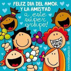 Feliz dia del amor y la amista....