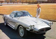 1958 Chevrolet Corvette XP-700 Concept.