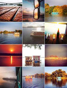 Urlaub auf dem Bunbo #bunbo #bunboland #hausbootverleih