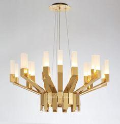 American droplight【最灯饰】不锈钢后现代美式吊灯